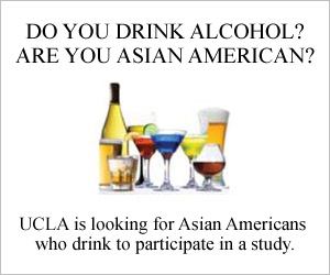 Are you Asian Americans? Do you drink alcohol?