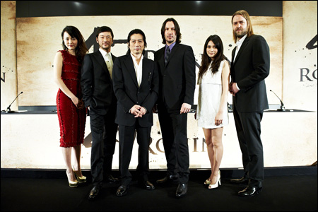 I>47 ronin</I>, starring a bunch of awesome japanese actors