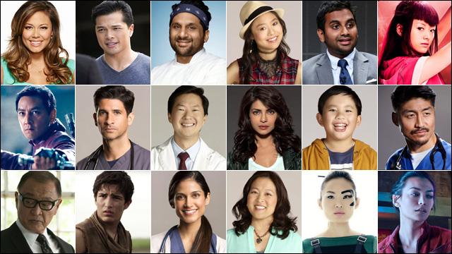 Asian americans actors