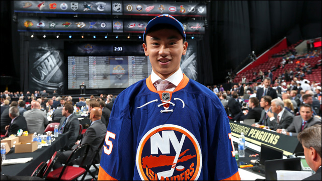 Andong Song Becomes First Chinese Player Drafted Into Nhl