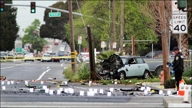 Marine killed by suspected drunk driver