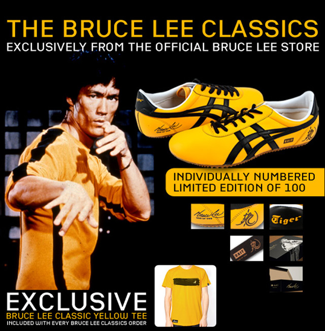 bruce lee game of death shoes
