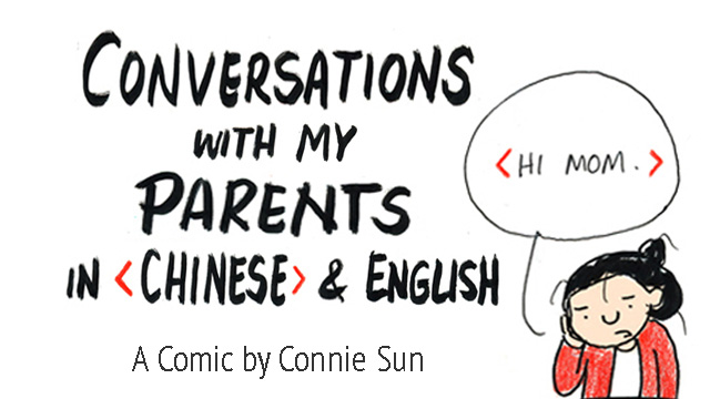 Changing Conversations When Parents >> Conversations With My Parents In Chinese English
