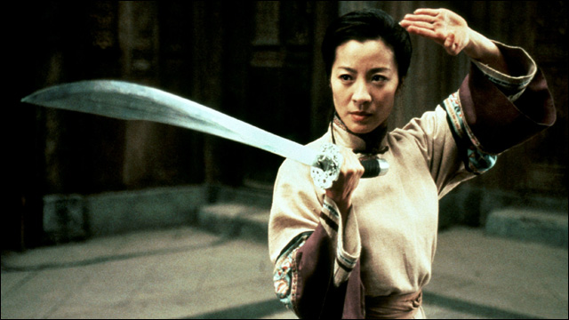 Michelle Yeoh Fight Harry Shum Jr. ...