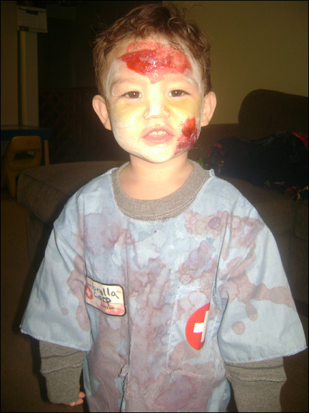 2 year old robert resident evils youngest zombie