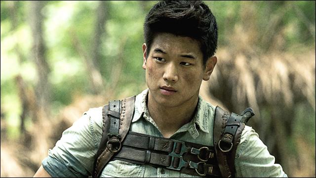 See Ki Hong Lee run his ass off in 'The Maze Runner'