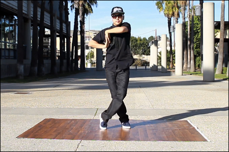 mike song does a dubstep dance