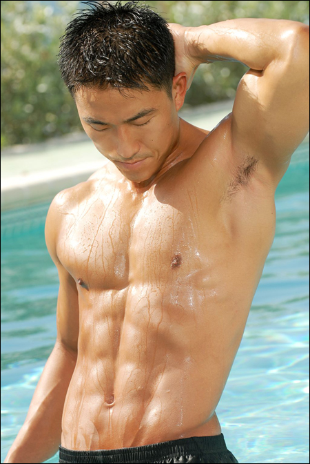 Asian guy body