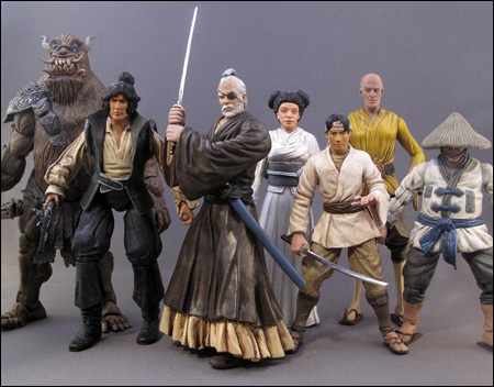 Samurai Wars is a line of custom figures that imagines what a Star Wars