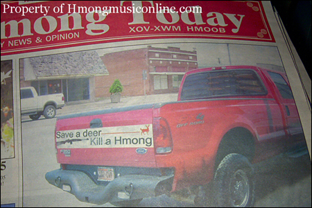 SAVE A DEER, KILL A HMONG