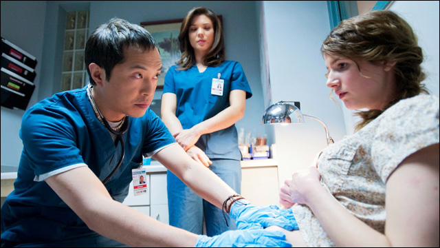 ken leung is working �the night shift� a new medical
