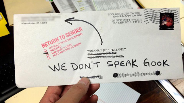 Back Racist To Reason The Letter Send A Most